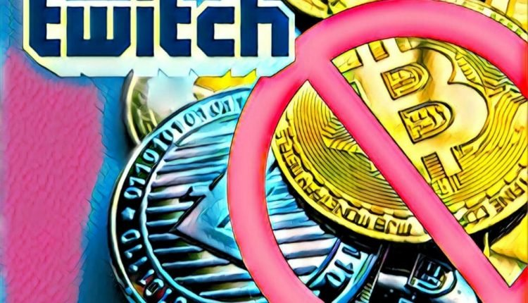 Twitch Silently Removes Crypto Payment Options